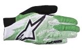 Перчатки Alpinestars Aero Glove  BRIGHT GREEN WHITE