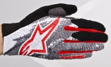 Перчатки Alpinestars Aero Glove black red
