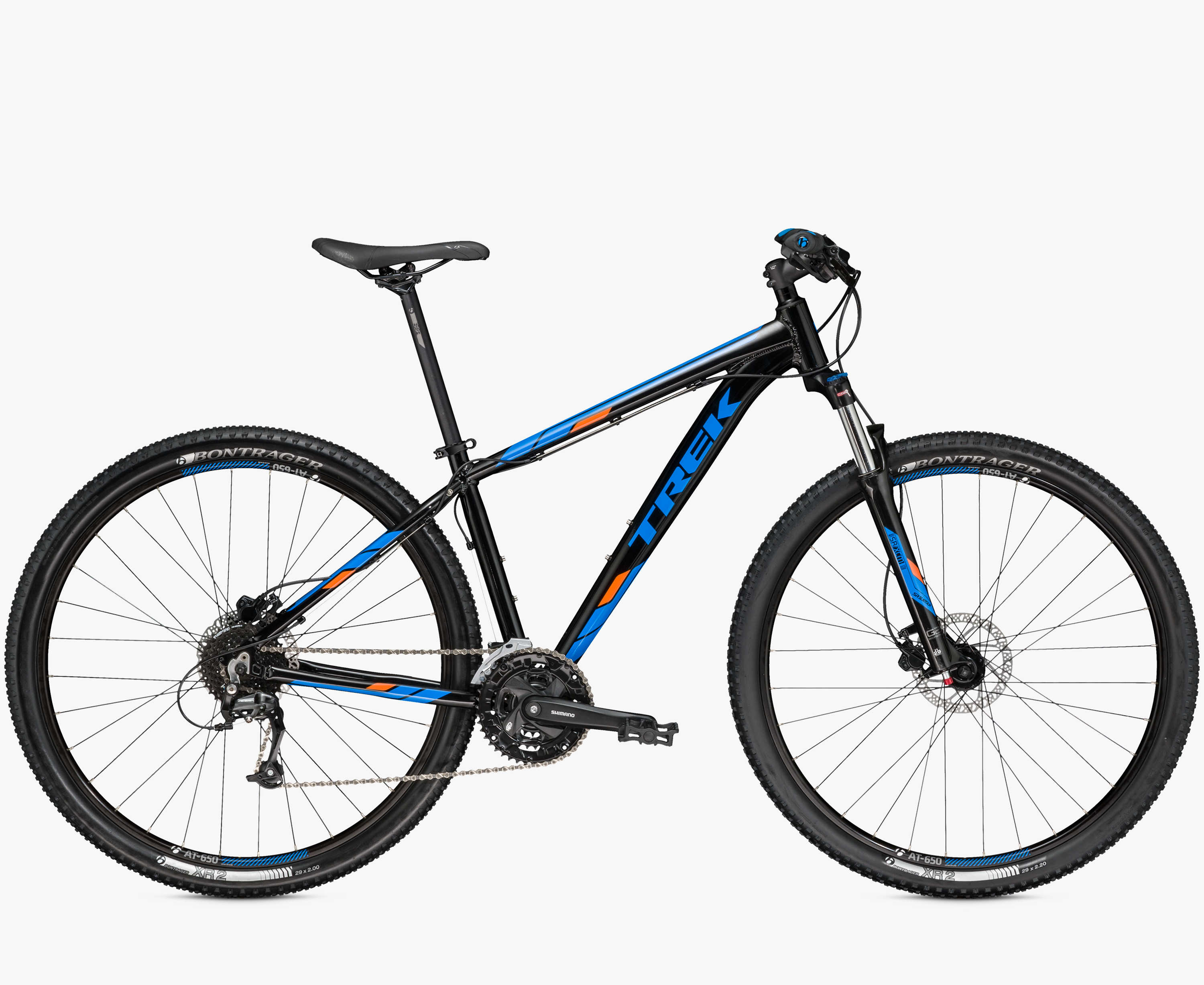 Велосипед Trek Marlin 7 black (2016)