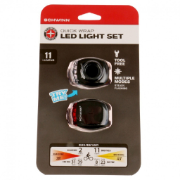 Комплект фонарей Schwinn 11 Lumen Quick Wrap Light Set